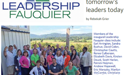 leadership fauquier article