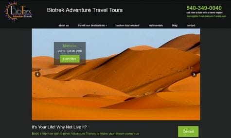 biotrek adventure travels website talk 19 media