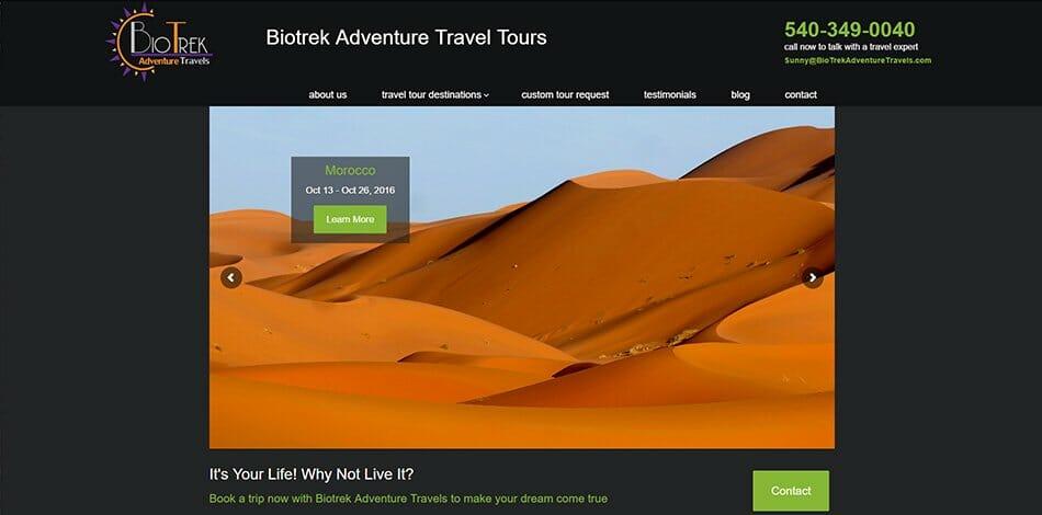 biotrek adventure travels website talk 19 media