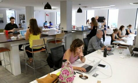 small business entrepreneurs co-working spaces