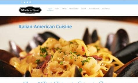 Denim and Pearls Restaurant Italian food Warrenton Fauquier northern Virginia