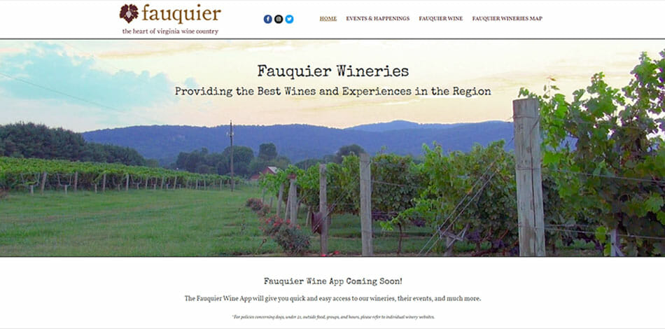 Fauquier Wineries, Providing the Best Wines and Experiences in the Region