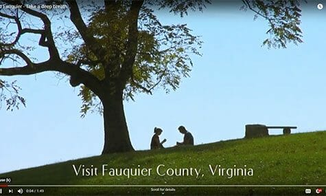 Audio & Video Production, Talk19Media, Fauquier County, Visit Fauquier, Take a deep breath