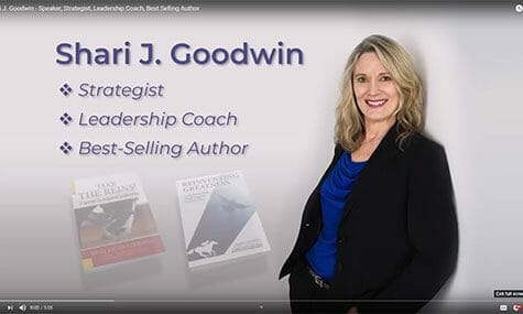 Shari J. Goodwin Speaker, Strategist, Leadership Coach, Best Selling Author