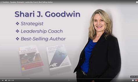 Shari J. Goodwin Speaker, Strategist, Leadership Coach, Best Selling Author